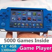 Fancci® A1 4.3'' LCD 8GB 32bit Li-On NES/SFC/GB/GBA Classic Games Portable Handheld Video Game Player MP4 MP5 MP3 FM Camera Kids Toys Gift-BLUE