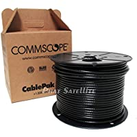 COMMSCOPE 500FT RG6 COAXIAL CABLE PROFESSIONAL PULLBOX BLACK