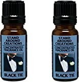 Set of 2 - Concentrated Fragrance Oil - Scent - Black Tie: Sophisticated notes of leather w/ warm woods, patchouli, musk. Infused w/essential oils (.33 fl.oz.)