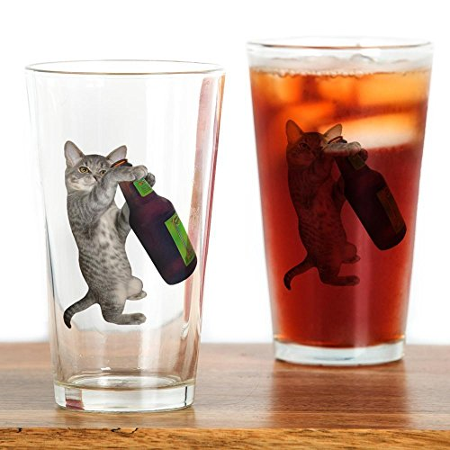 CafePress - Cat Beer - Pint