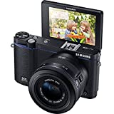 Samsung NX3300 Mirrorless Digital Camera with 20-50mm Lens - Black