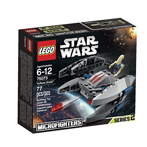 LEGO, Star Wars Microfighters Series 2 Vulture Droid (75073) (Wars Micro Sets Star Lego)