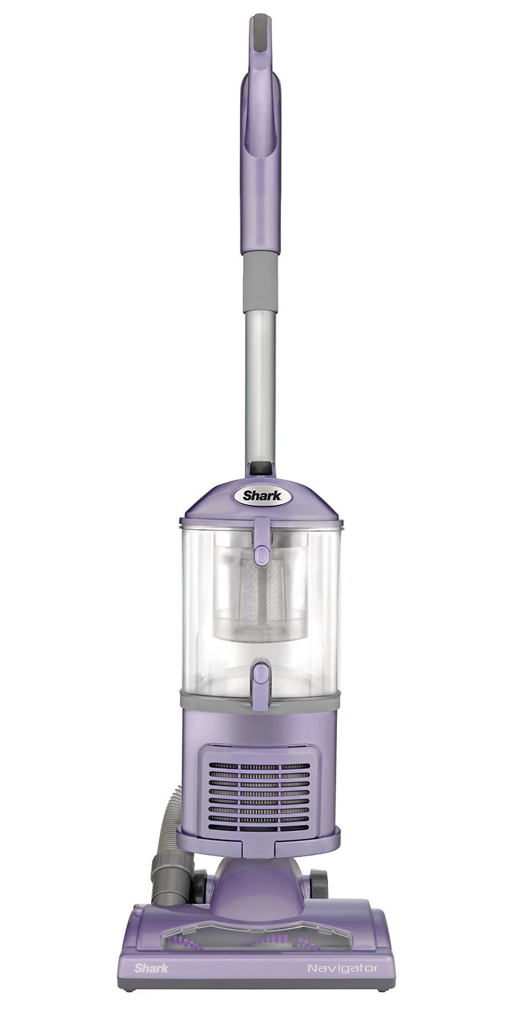 Shark Navigator Upright Vacuum for Carpet and Hard Floor with Lift-Away Hand Vacuum, Pet Tool, HEPA Filter, and Anti-Allergy Seal (NV352), Lavender SharkNinja