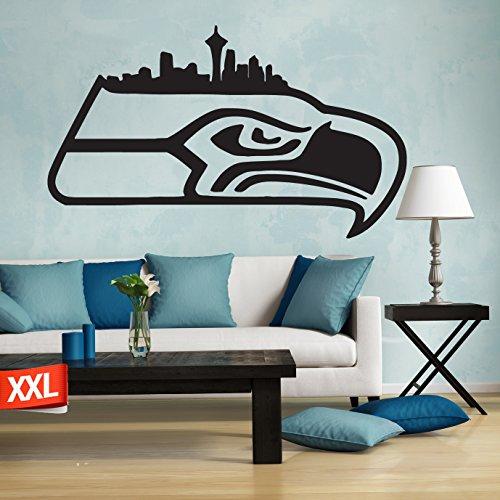 Seattle Seahawks decal, Seattle Seahawks logo decal, NFL logo decal, Seattle Seahawks, Seahawks decal, Seahawks decal, Seahawks sticker, Seahawks large decal pf16 (13