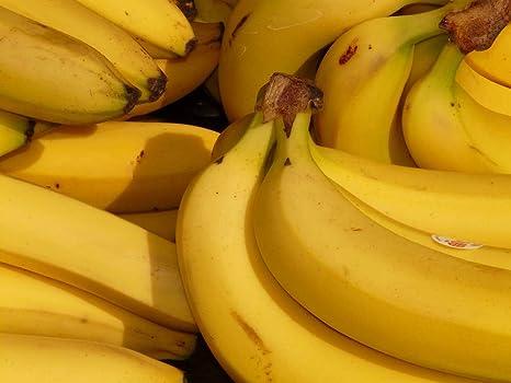 Pinturas Artísticas Comida De Racimo De Bananas Lienzo Para