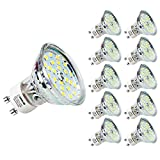 LOHAS GU10 LED Light Bulb, 60W Halogen Bulb Equivalent, 4.5W,...