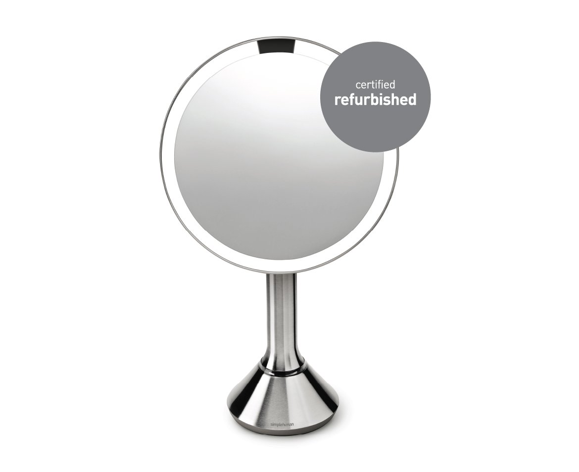 simplehuman Sensor Mirror – Sensor-Activated Lighted Makeup Mirror by simplehuman (Image #2)