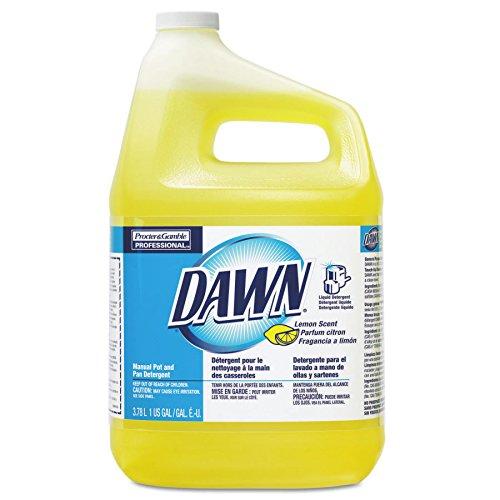 Procter & Gamble 608-57444 Dawn Manual Pot and Pan Dish Detergent, Lemon Scent, 1 gal (Pack of 4)