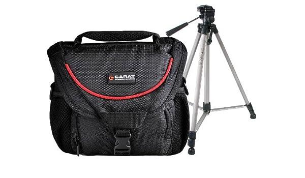 Progallio 4909177143168 Estuche para cámara fotográfica Cubierta de Hombro Negro, Rojo: Amazon.es: Electrónica
