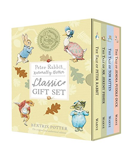 Peter Rabbit Naturally Better Classic Gift Set Beatrix Potter Benjamin Bunny