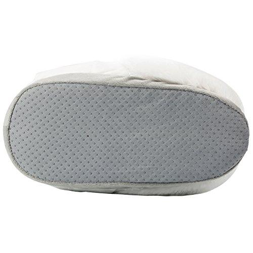 Yuwell Volwassen Pluche Eenhoorn Slippers Winter Indoor Thuis Slippers Warme Huishoudelijke Schoenen Loafer Witte Slippers