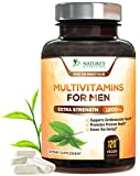 Once Daily Multivitamin for Men – with Whole Food & Organic Extracts with Vitamins C, D, E, B12, Saw Palmetto, Echinacea, Zinc, Calcium & Magnesium. Natural, Non-GMO Supplement – 120 Veggie Capsules For Sale