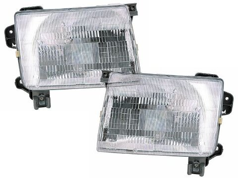 Nissan Frontier New Headlights Set Headlamps Pair