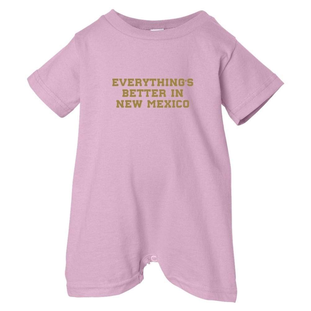 Mashed Clothing Unisex Baby Everythings Better New Mexico T-Shirt Romper