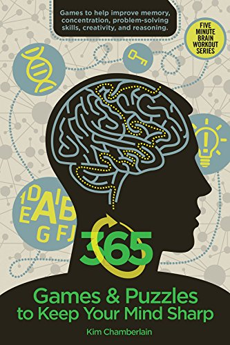 365 Games & Puzzles to Keep Your Mind Sharp (Brain Workout) by Skyhorse Publishing