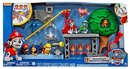 Paw Patrol Marshalls Training Center With 6 Pups  Amazon.co.uk  Toys   Games 2bf74eb642