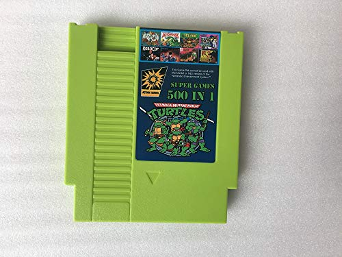 - super NES Game Cartridge 72 pins 8 Bit 500 in 1 video games with Mario Contra TMNT Donkey Kong