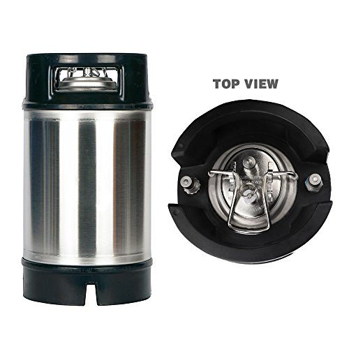 OneBom Lid for Beer Brew, Cornelius Keg Lid Stainless Steel with 20'' Food Grade Silicon Tube & 2 Micron Diffusion Stone by OneBom (Image #4)