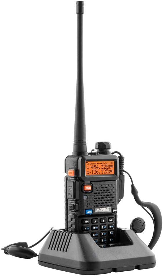 BaoFeng UV-5R Dual Band Walkie Talkie VHF UHF Two Way Radio 6 Pack