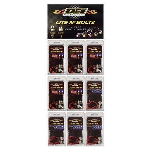 DEI 030100 LED Lite N Boltz Plan-O-Gram Display with Header Card