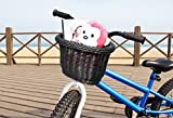 Colorbasket Kids Front Handlebar Bike Basket, Black