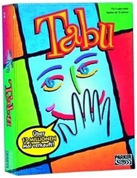 Hasbro Parker 14552100 - Juego de Mesa Tabú [Importado de Alemania ...
