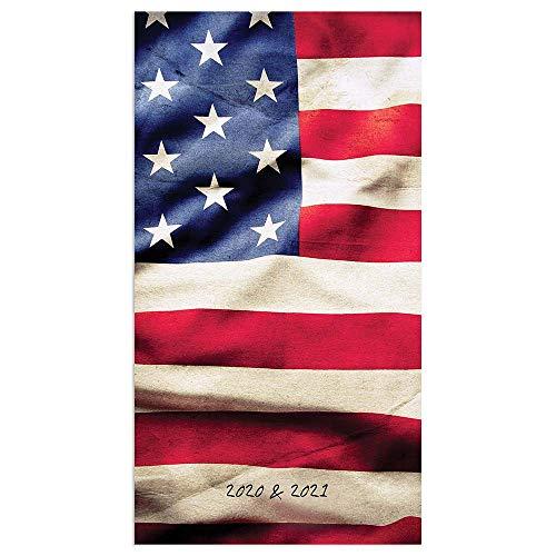 2020-2021 American Flag 2-Year Small Pocket Planner Calendar