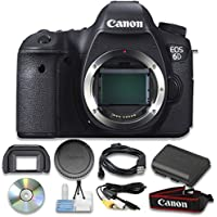 Canon EOS 6D Digital SLR Camera (Body Only) Wi-Fi Enabled - International Version
