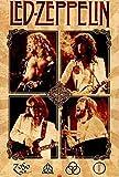 Amazon Com Rhythmhound Led Zeppelin Poster Robert Plant