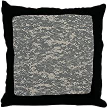"CafePress - Digital Camo - Decor Throw Pillow (18""x18"")"
