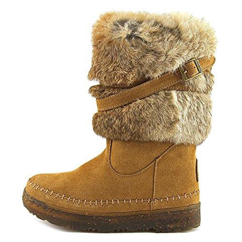 Pictures of Bearpaw Kara Women Round Toe Fur Snow Boot 1939W Black 4