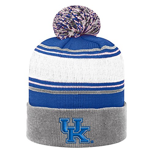 Top of the World Kentucky Wildcats Men's Winter Knit Hat Icon, Royal, One - Cat Knit Top