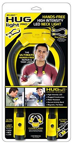 MyLight HL000002 HUGlight Pro LED Hands Free Magnetic Task Light