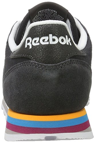 para Zapatillas Mujer Classic Mh Leather Reebok Colores Varios Coal White xInqOSt