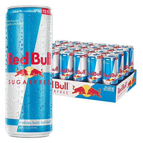 Red Bull Sugarfree, Energy Drink, 12 Fl Oz Cans, 24 Pack