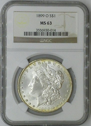 1899 O Morgan $1 MS63 NGC Silver Dollar Old US Coin 90% Silver