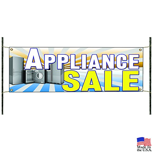 Appliance Sale Fridge Microwave Kitchen Advertising Vinyl Banner Sign