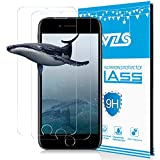 "WZS Screen Protector Compatible iPhone 6 Plus, 6s Plus,7 Plus,8 Plus, [3-Pack] Premium Tempered Glass with 99.99% HD Clarity and 3D Touch Accuracy, Tempered Glass Screen Protector [5.5"" inch]"