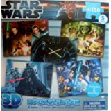 Star Wars Super 3D Puzzle Pack [5-Pack - 750 Pieces]