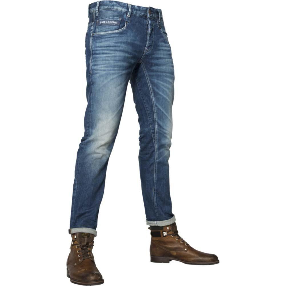 PME Legend Herren Jeans Commander 2 Regular Straight Fit