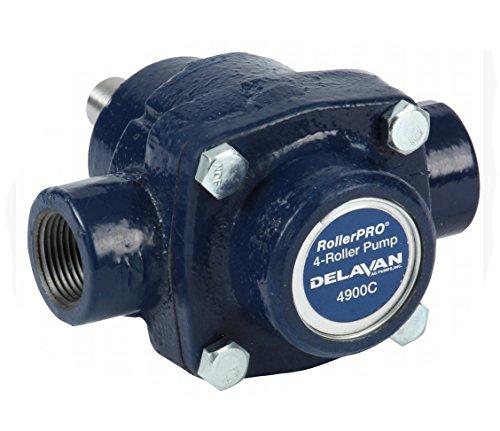 (Delavan Cast Iron 4-Roller Pump - 9.2 GPM, 150 PSI, 2,600 RPM, Model#)
