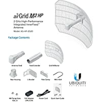 Ubiquiti Networks AG-HP-2G20 Airmax AirGrid M2 HP 20dBi 2.4GHz CPE 100+Mbps 30km