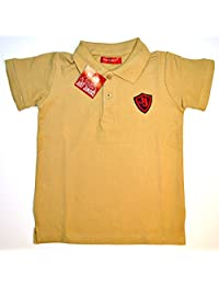 Just Juniors Boys Polo Shirts: with JJ Red Logo