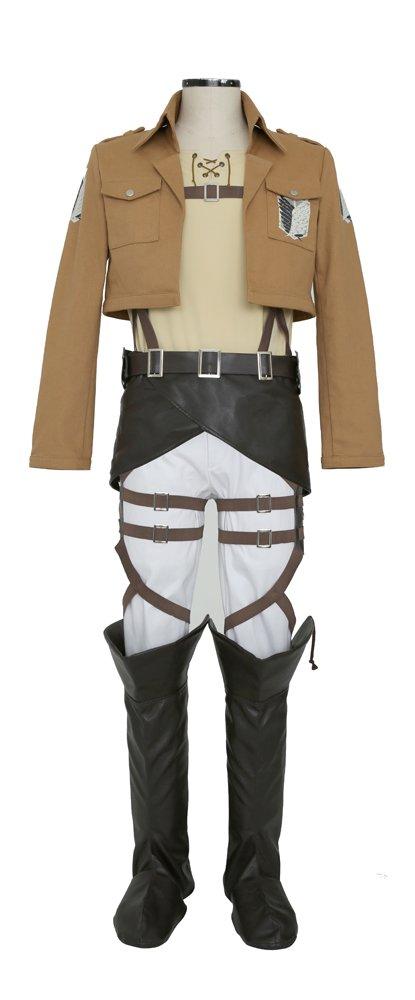 Attack on Titan Investigation Corps Costume Set Ellen ver. / Unisex M
