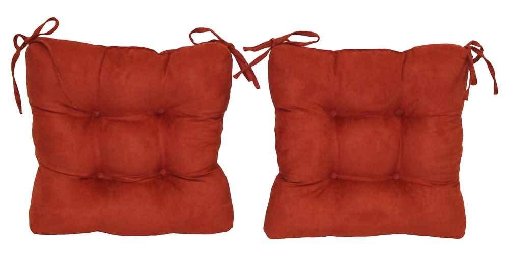 正方形クッションのダイニング椅子 – のセット2 (セージ)   B00ZZ4SPPI