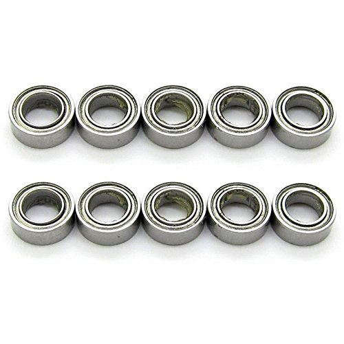 7 Mm Bearing Bushing (4x7x2.5 mm Deep Groove Ball Bearing Model bearings Skateboard Bearings MR74ZZ L-740ZZ 674ZZ Pack of 10)