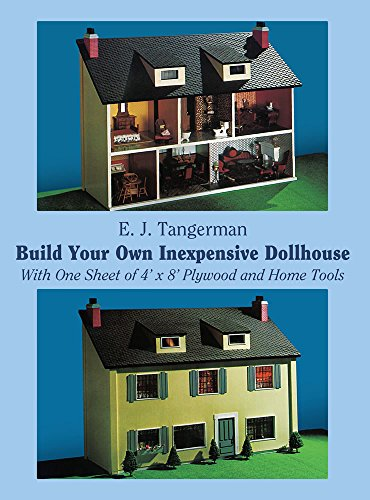 Build Your Own Inexpensive Dollhouse (Dover Woodworking) - Bed Molding Wood