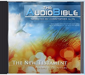 Amazon com: The Audio Bible - New Testament - Psalms and Proverbs