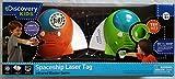 Spaceship Laser Tag 2 Player 2 Spacecraft Set Orange and Green - Parents' Choice Award-Imaginative Play Electronics Physics