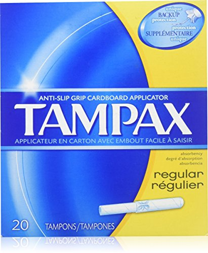 Applicator Flushable - Tampax Regular Absorbency Tampons with Flushable Applicator 20 ct